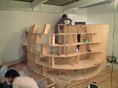 Build Your Own Bookcase Fort: Settle in for a Nerdy Siege