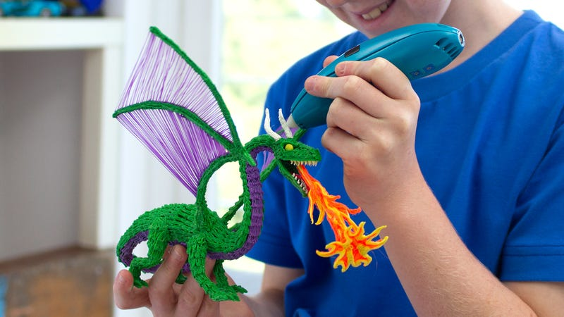 A New Kid-Safe Version of the 3Doodler Melts Plastic Without Burning Fingers