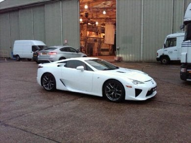The Lexus LFA Sounds Like $400,000