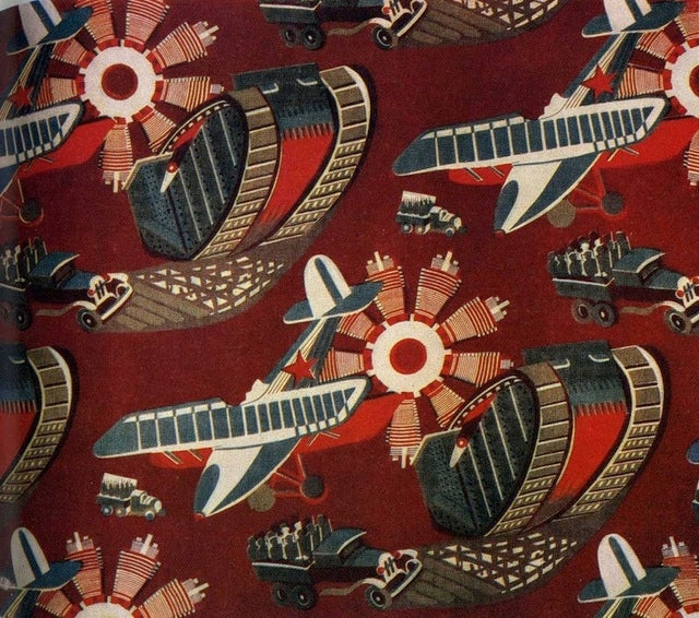 These Soviet Textiles Are Actually Propaganda Tools From The 1920s