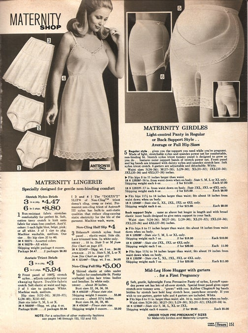 The Best Sears Women's Fashions For Spring & Summer …Of 1972