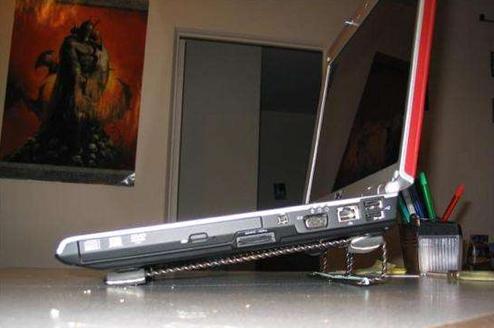 DIY Two Dollar Laptop Stand