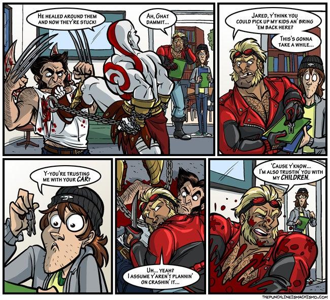 Sunday Comics: Unlikely Hero