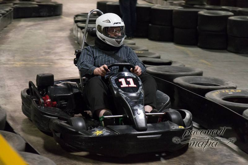 Karting is casual?