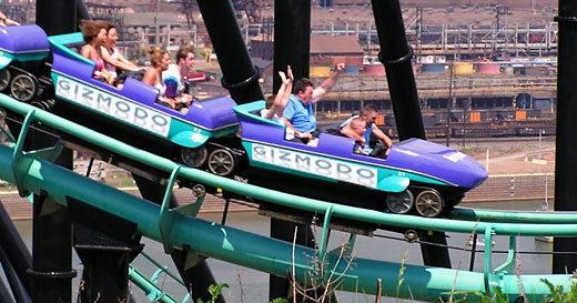 Today at Giz: Happy Friday Thrill Ride Edition