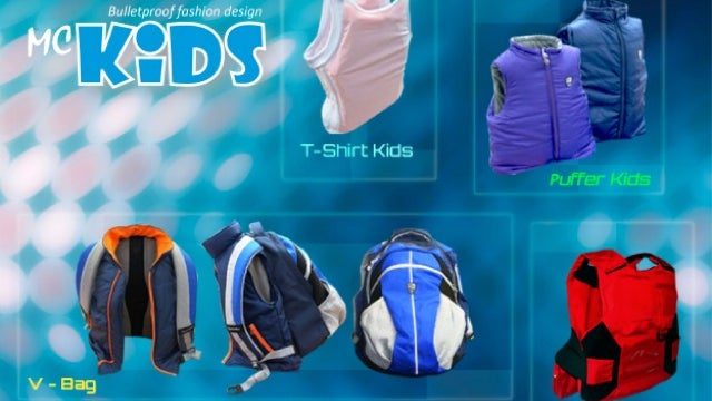 The Latest American Fashion: Bulletproof Jackets and Backpacks for Kids