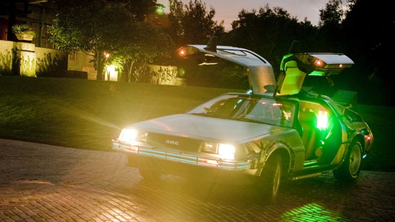 DeLorean To Help Mom Throw Amazing Back To The Future Birthday Party