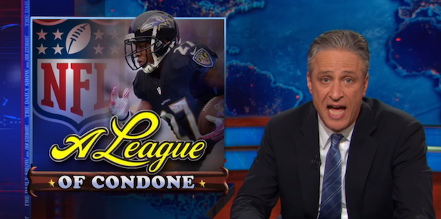 The Daily Show Takes On The NFL's Bungling Of The Ray Rice Situation