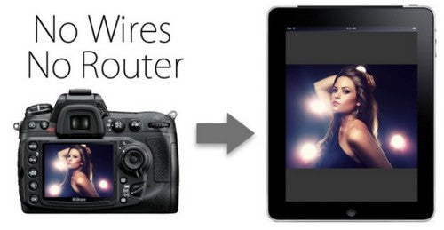 Set Up Your Digital Camera for Wireless and Router-Free iPad Tethering
