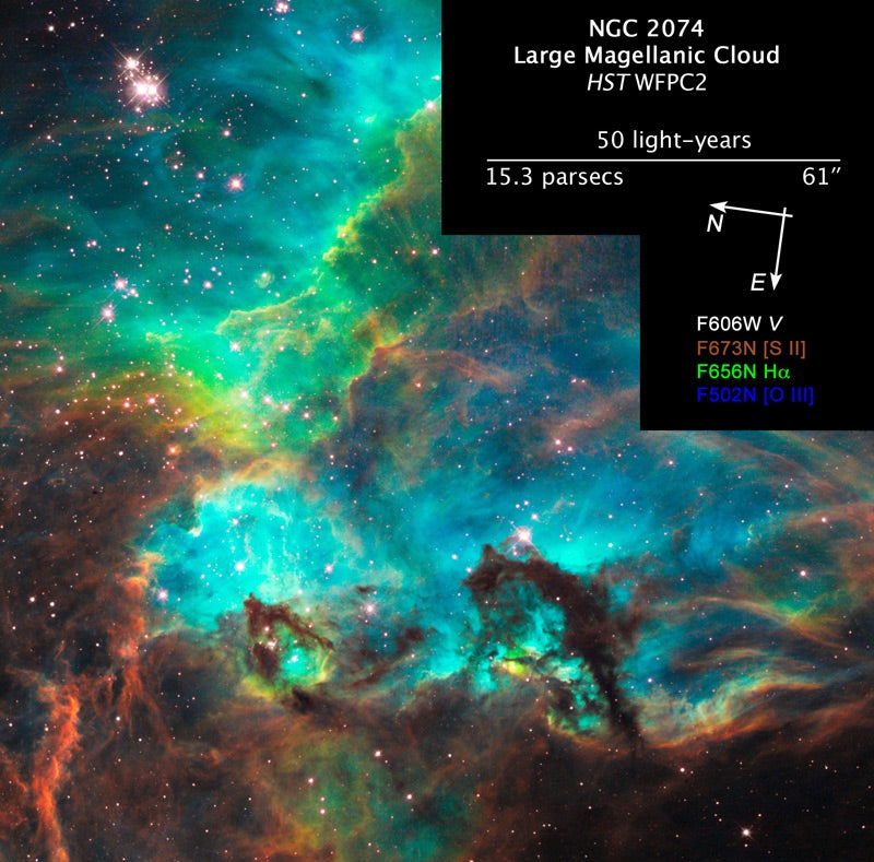 Hubble Completes 100,000th Orbit, Takes Yet Another Breathtaking Photo