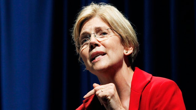 Crazy Heckler Calls Elizabeth Warren 'Socialist Whore'