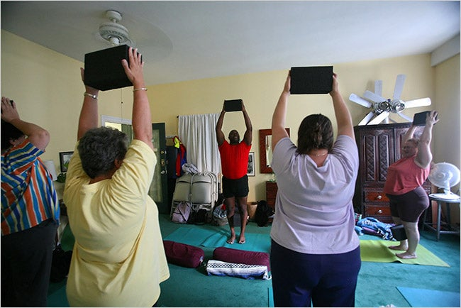 Yoga Classes For Big People Only?