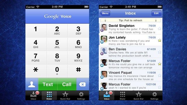 Google Voice for iPhone Gets Multi-Person Texting, Sprint Integration, and More