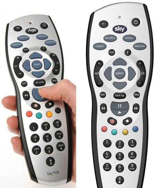 UK's Sky TV Makes Upside-Down Remote For Australians