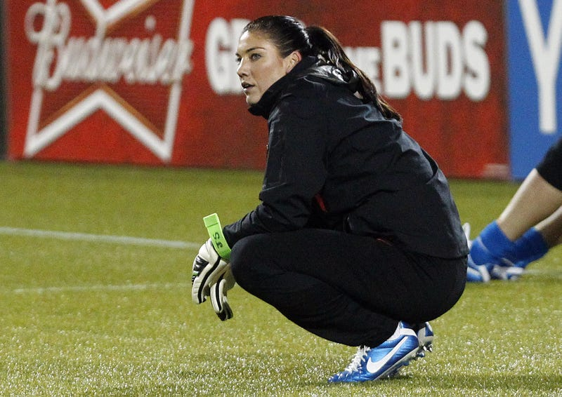 "Hope Solo 911 Call: ""She Is Going Psychotic!"""