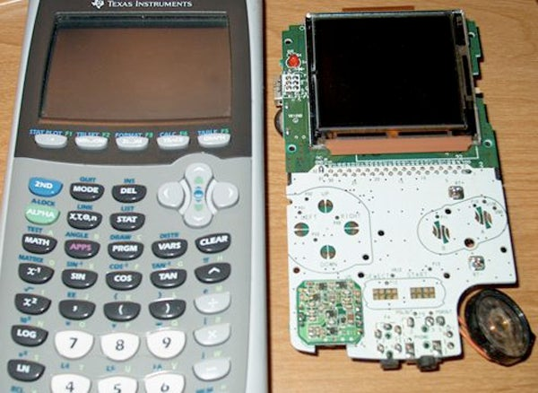 Gameboy Color Inside a TI-83 Series Calculator