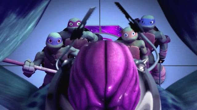 The Teenage Mutant Ninja Turtles battle Krang in this week's premiere