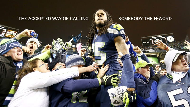 How Richard Sherman Became America's Newest Thug