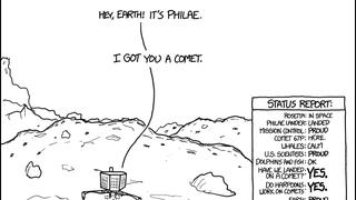 Goodnight Comet, Goodnight Philae
