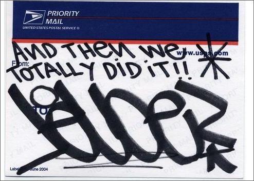 ScarJo's Private Life Revealed In Graffiti