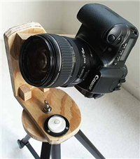 DIY $10 panoramic tripod head