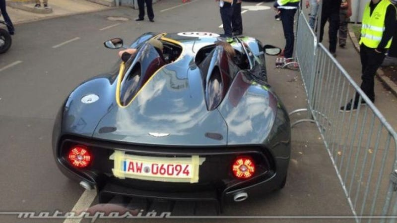 Aston Martin CC100 Speedster Concept: This Is The Back Of It