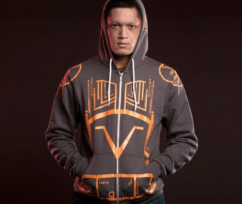 Give In To The Sark Side With The Tron Bad Guy Hoodie