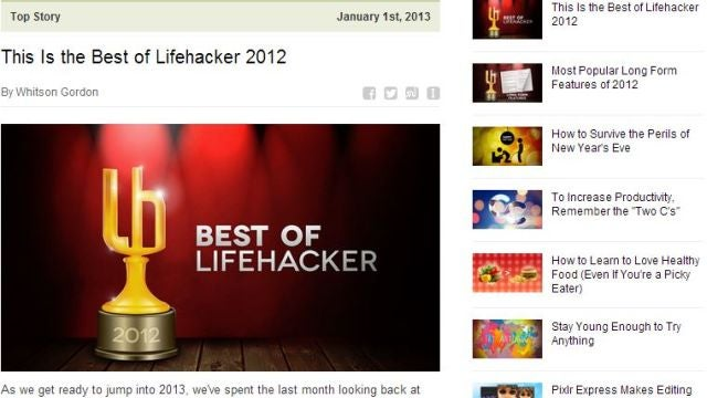 Subscribe to the Lifehacker Newsletter to Get Top Stories Right in Your Inbox