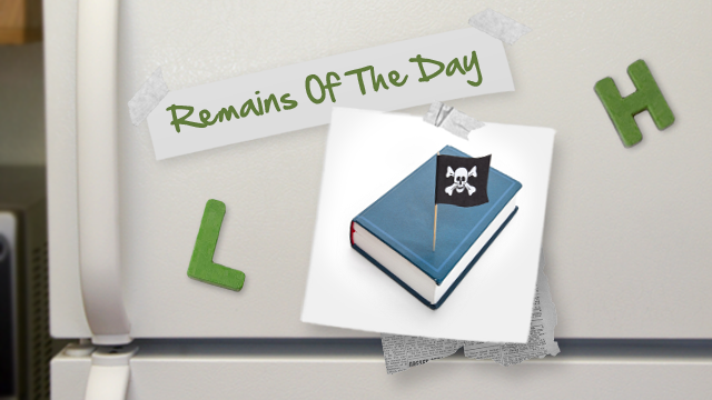 Remains of the Day: International Book Publishers Take a Stand Against Piracy
