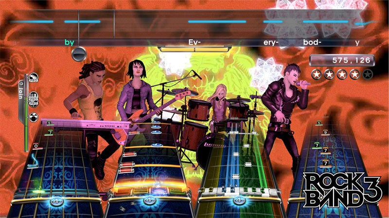Rock Band 3 'Pro' Mode Songs Will Cost You Another Buck