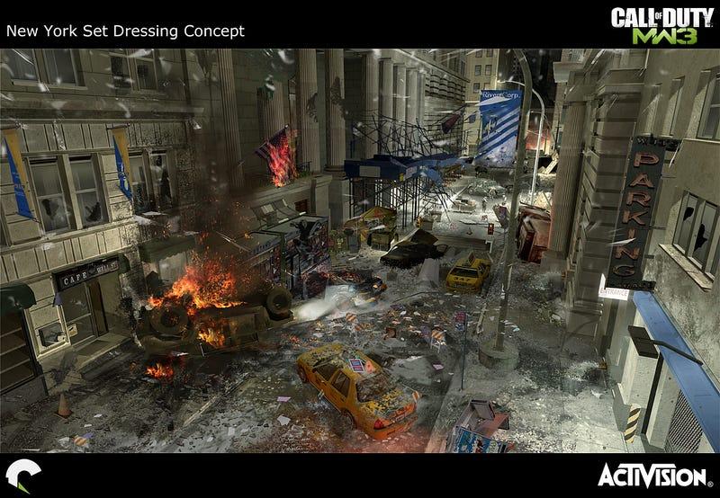 The Explosive Art of Modern Warfare 3