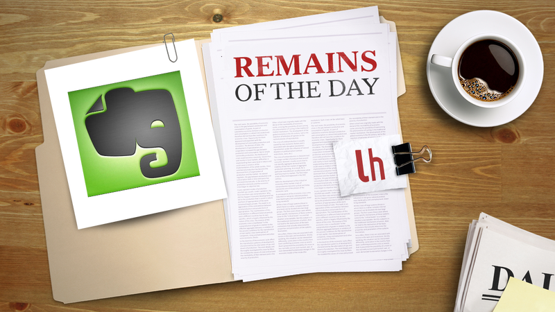 Remains of the Day: Evernote to Roll Out Two-Factor Authentication