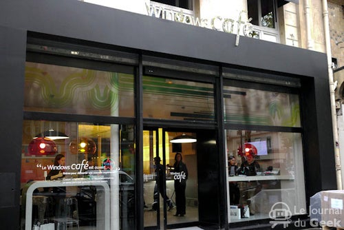 Microsoft Now Serving Cappuccinos at the Windows Cafe In Paris