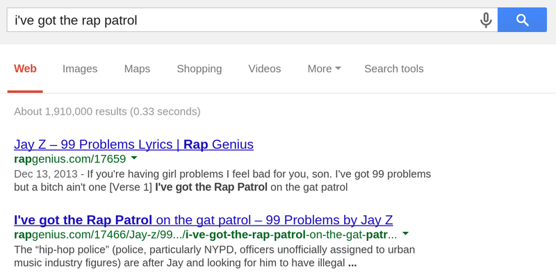 Rap Genius Returns to Google with an Apology