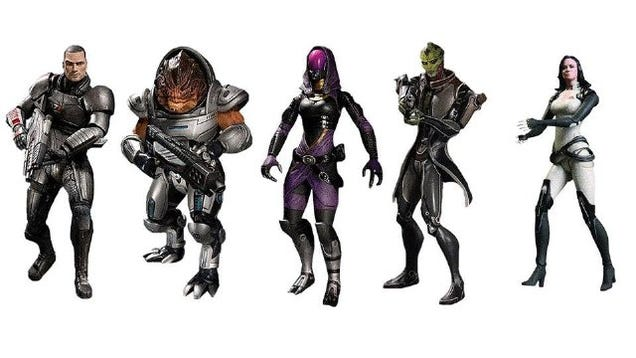 Mass Effect Figures Amazon Mass Effect Figures Will Set a