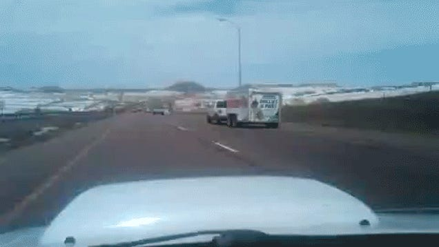 What It's Like To Lose Control Of Your Trailer On The Highway