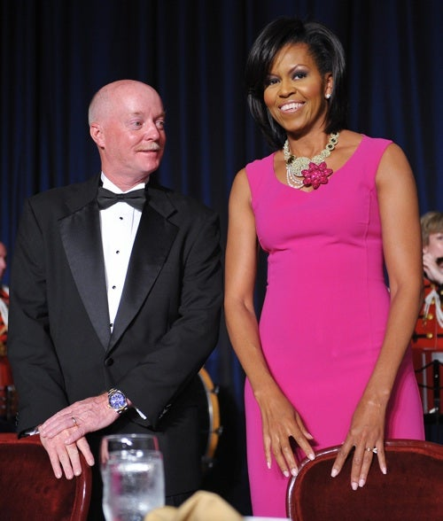 The First Lady Thinks Pink