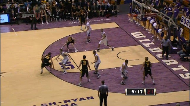 Iowa Basketball Player Throws Shoe, Nearly Decapitates Own Coach