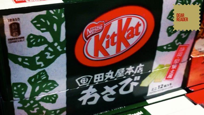 Wasabi Kit-Kat? Um, Okay!