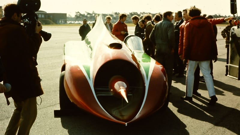 This Green Monster Was Once the Fastest Car on Earth