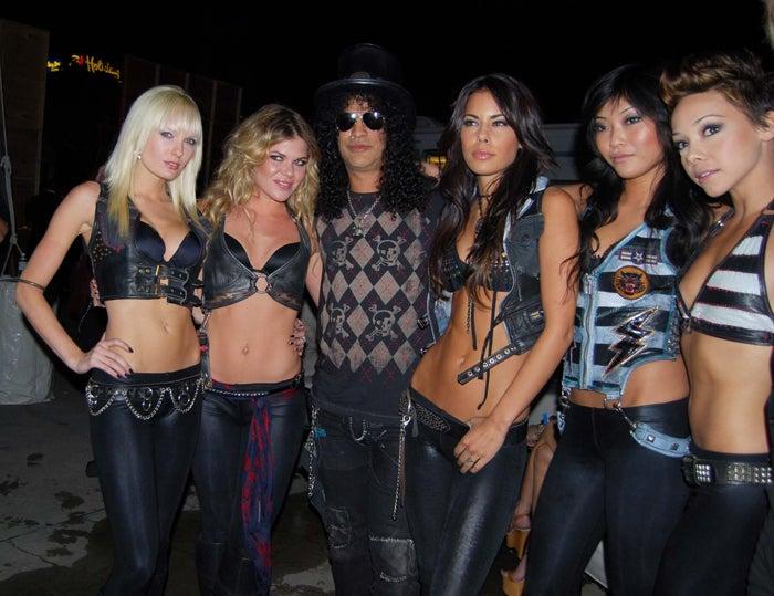 Slash's New Friends: A Little Bare, Lots Of Hair