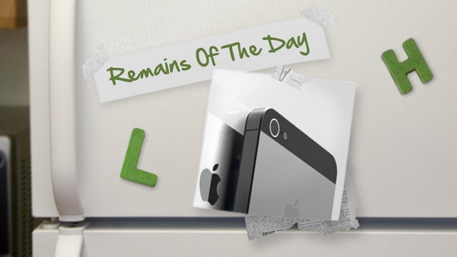 Remains of the Day: Apple Addresses iPhone 5 Camera Problems
