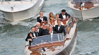 A Fleet of Weatherproofed Boats Stole the Spotlight at Clooney's Wedding