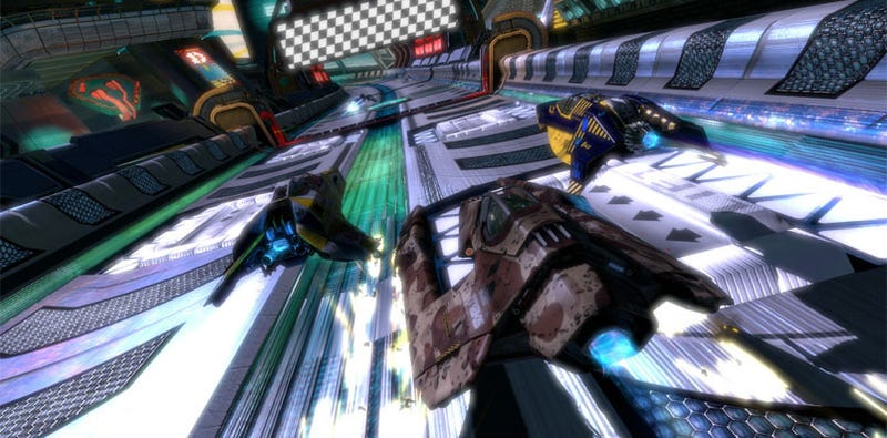 New WipEout HD Update Is Gonna Need Its Own Update
