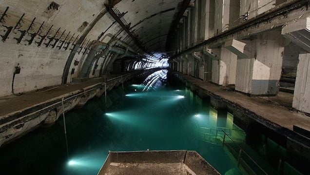 Journey into the Dystopian World of Abandoned Soviet Submarine Bases