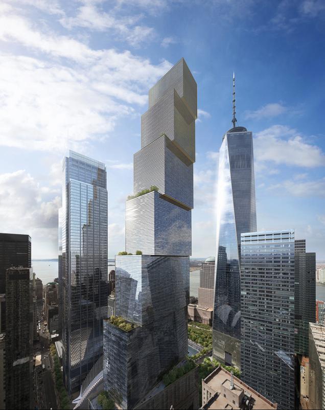 La última torre del World Trade Center es un prodigio de la arquitectura