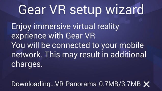 Samsung's Gear VR Headset Plans Outed by Leaked Official Companion App