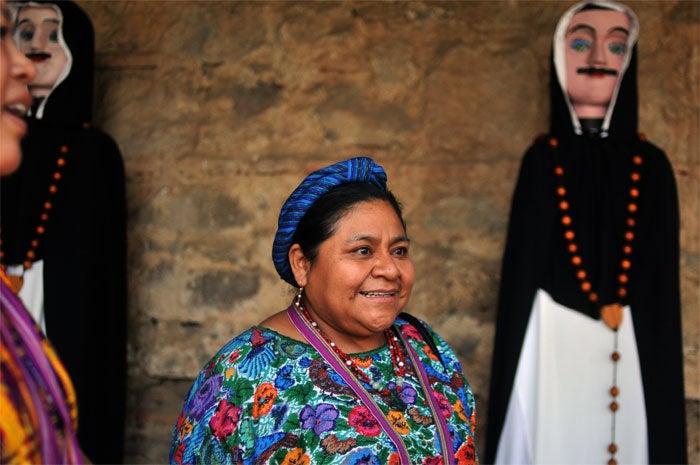 She, Rigoberta Menchu