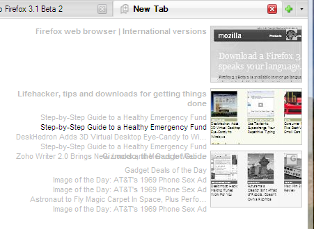 Firefox New Tab Prototype Has Cool Ideas, Still Rough Around the Edges