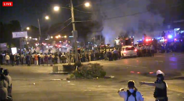 Chaos Erupts in Ferguson as Police Launch Abrupt Offensive